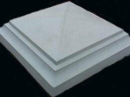 Железобетонные изделия - Козырек (Колпак) 4-х скатный из бетона на столб, 0