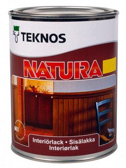 Лаки - Лак для внутренних работ Teknos Natura 9 л.…, 0