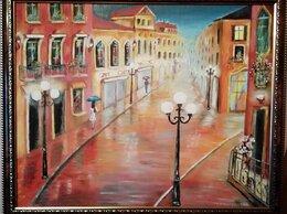 """Картины, постеры, гобелены, панно - картина маслом """"Дождь"""", 0"""