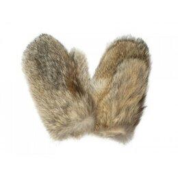 Перчатки и варежки - Рукавицы из волчьего меха, внутри флис, 0