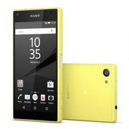 Мобильные телефоны - Sony Xperia Z5compact (E5823) yellow, 0