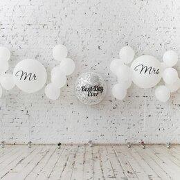 """Свадебные украшения - Композиция """"MR&MRS, 0"""