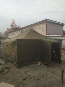 Палатки - Шатер армейский УСТ-56 зимний (на металлических…, 0