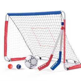 Коньки - Детские ворота для футбола и хоккея, 0