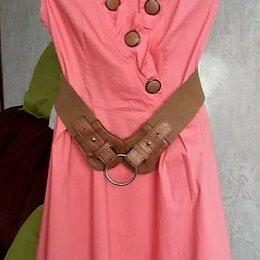 Платья - Платье (хлопок 95%, стрейч 5%), р.42-44, 0
