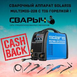 Сварочные аппараты - Сварочный аппарат solaris multimig-228 TIG горелка, 0