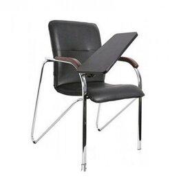 Стулья, табуретки - Офисный стул Самба со столиком хром, 0