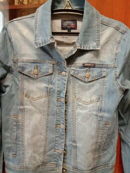 Куртки - Новая джинсовая куртка , 0