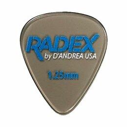 Аксессуары и комплектующие - D'Andrea RDX351 0.75 медиатор стандартной…, 0