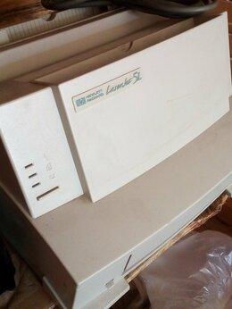 Принтеры и МФУ - Принтер HP laserjet в комплекте, 0
