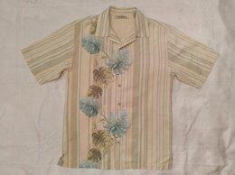 Рубашки - Гавайская рубашка ТВ,шёлк. размер S-M, 0