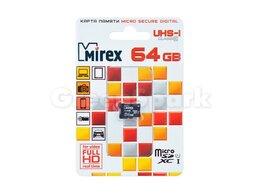Карты памяти - Карта памяти MicroSD T-Flash Mirex 64 Gb Class…, 0