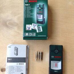 Измерительные инструменты и приборы - Детектор bosch PMD 7 truvo , 0
