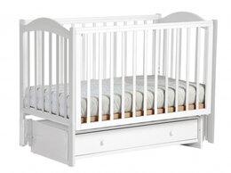 Кроватки - Кроватка детская с маятником, 0