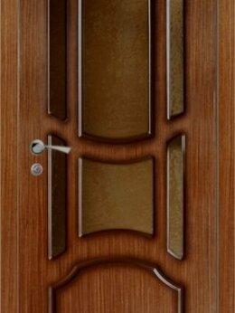 """Межкомнатные двери - Межкомнатная дверь шпон  """"Ампир"""", 0"""