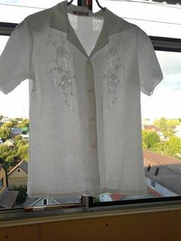 Блузки и кофточки - Блузка женская льняная, 0