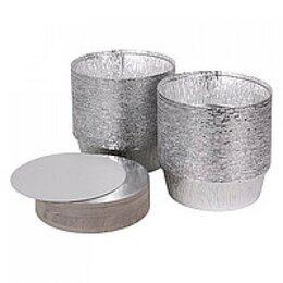 Крышки и колпаки - Крышка крафт-алюминий круглая – 175 мм, 0