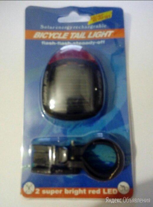 Задний велофонарь на солнечной батарее по цене 500₽ - Фонари, фото 0