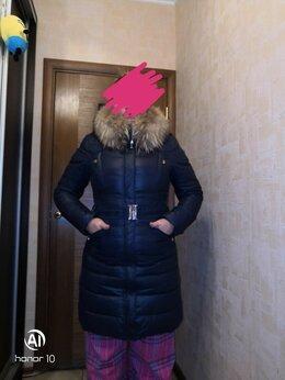 Пуховики - Пуховик женский с натуральным пухом зимний, 0