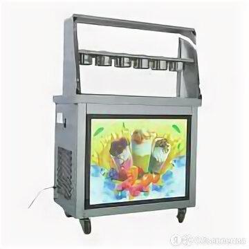 Фризер для ролл мороженого KCB-2Y Foodatlas (контейнеры, световой короб, стол дл по цене 75098₽ - Прочее оборудование, фото 0