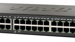 Проводные роутеры и коммутаторы - Cisco SF300-48 коммутатор / свич, 0