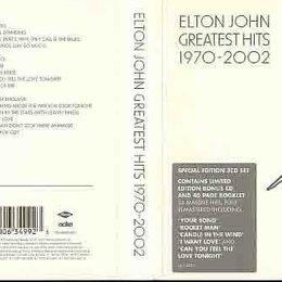 Музыкальные CD и аудиокассеты - 3 CD box  CD Elton John /Greatest Hits 1970-2002/ 3 CD box , 0