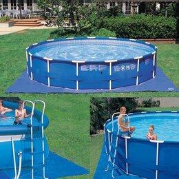 Тенты и подстилки - Подложка под бассейн размер 4,72 * 4,72 м. intex…, 0