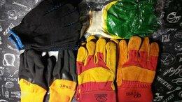 Средства индивидуальной защиты - Перчатки строительные, сварщика, 0