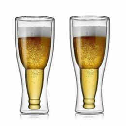 Бокалы и стаканы - Набор пивных бокалов 2шт. 450мл 199-24010 с…, 0