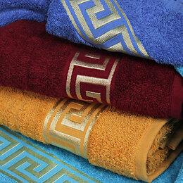"""Полотенца - Большое (100х150) махровое полотенце """"Versace"""", 0"""