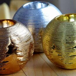 Подсвечники - Подсвечники круглые (серебро, бронза, золото) , 0