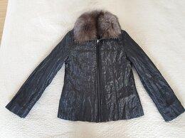 Куртки - Куртка на кроличьем меху р.46-48 (новая), 0