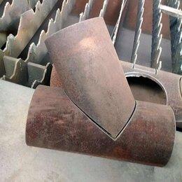 Канализационные трубы и фитинги - Тройник из стальной трубы, 0