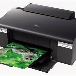Принтеры, сканеры и МФУ - Цветной принтер Epson Stylus Photo R295, 0