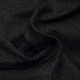 Ткани - Ткань батист хлопок черного цвета, 0