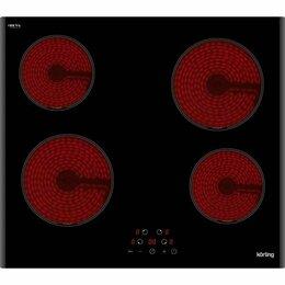 Плиты и варочные панели - Встраиваемая электрическая панель Korting HK 60003 B, 0