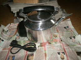 Электрочайники и термопоты - Электрический металлический чайник, 0