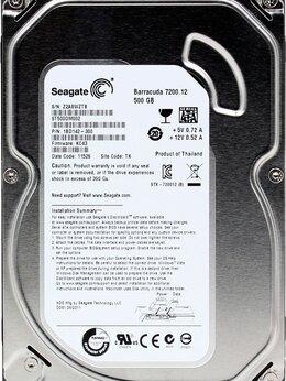 Внешние жесткие диски и SSD - Винчестер SATA 500Gb Seagate, 0