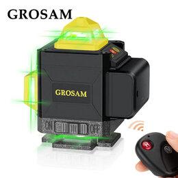 Измерительные инструменты и приборы - Лазерный уровень 4D Grosam WL-16, 0