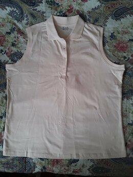 Блузки и кофточки - Топ/ кофточка женская без рукавов с воротником,…, 0