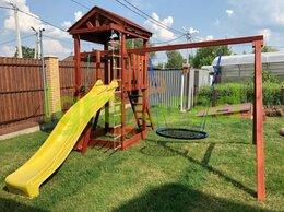 Игровые и спортивные комплексы и горки - Детская площадка IgraGrad Панда Фани Nest, 0