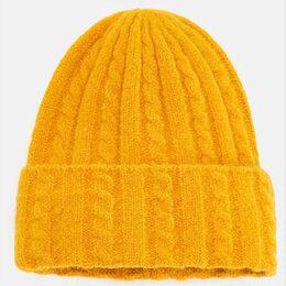 Головные уборы - Новая вязаная шапка в косичку Модный цвет, 0