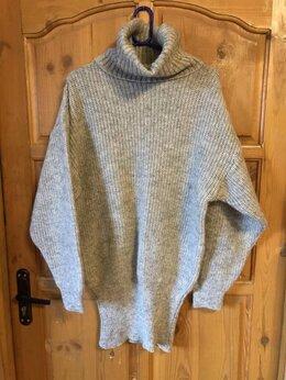 Свитеры и кардиганы - Платье-джемпер шерстяное 46-48, 0
