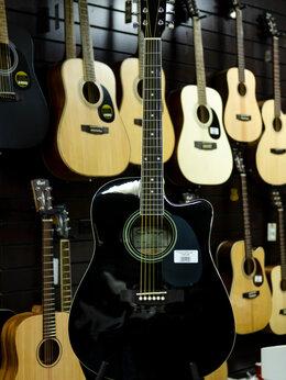 Акустические и классические гитары - F601-BK Акустическая гитара, с вырезом, черная,…, 0