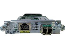 VoIP-оборудование - Cisco Modules & Cards EHWIC-1GE-SFP-CU, 0