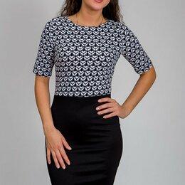 Платья - Женское трикотажное платье Nirel 44 размера, 0