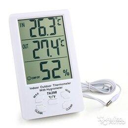 Термометры - Цифровой термометр + гигрометр выносной MT-298, 0