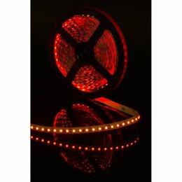Светодиодные ленты - Светодиодная лента Красная 12В, 5 метров 9,6…, 0