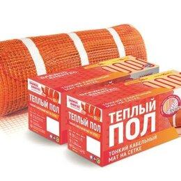 Электрический теплый пол и терморегуляторы - Кабельный мат на сетке (теплый пол), 0