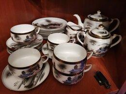 Сервизы и наборы - Чайный сервиз Кутани Гейша Япония винтаж, 0